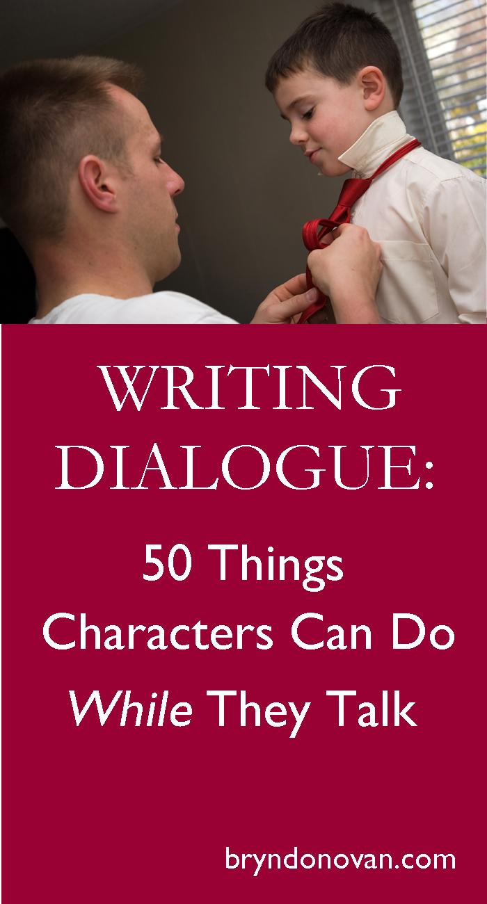 how to do dialogue