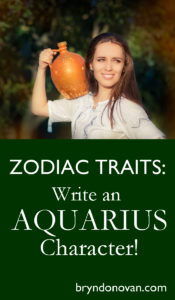 Use the personality types of zodiac signs to inspire character development in your novel. #astrology #writingtips