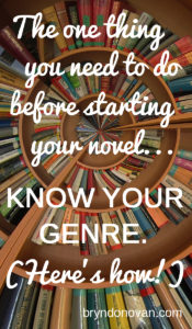 Of all the writing advice I've ever given, this has helped people the most. #writingtips #NaNoWriMo #genres of books