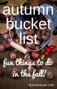Fall Bucket List: Fun Things to Do In the Fall #midwest #kansas city #ways to enjoy fall #celebrate