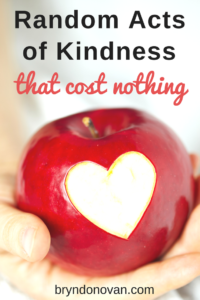 Free Gifts: Random Acts of Kindness That Cost Nothing #love #positivity #good deeds