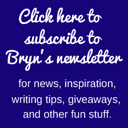 Bryn Donovan newsletter signup 2017