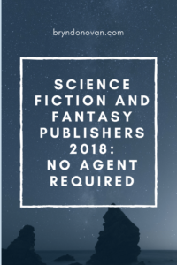 Fantasy and Science Fiction Publishers Who Accept