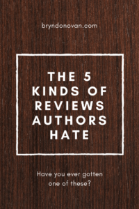 The 5 Amazon Reviews Authors Hate #the worst amazon reviews #how to deal with bad reviews #writers #writing #books