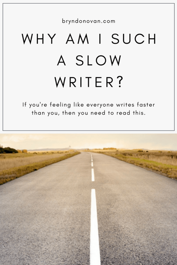 Writer Worries: Why Am I Such a Slow Writer? #how to write faster #how can I write faster #how long does it take to write a book