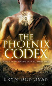 THE PHOENIX CODEX by Bryn Donovan #best paranormal romance books 2017 #urban fantasy #secret society book